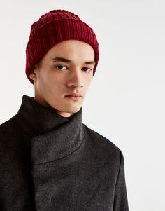 High neck coat - Coats and jackets - Clothing - Man - PULL&BEAR Hungary