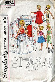 #Vintage #Simplicity #doll #sewing #pattern via Flickr