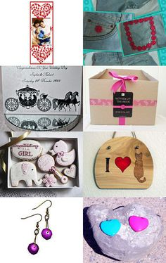 Pink and Girly by Billie Blanchard on Etsy--Pinned with TreasuryPin.com #promotingwomen