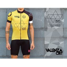"The #ValenzaCrit winner's jersey is out now! Thanks to @acht_supply as main sponsor of the prize for the fastest rider! Remember the date, June 7th 2015 Valenza Crit, the First Fixed Criterium in the ""Gold Town"" #oscarcycling #staisenzapensieri"