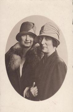 Crownprincess Astrid of Belgium and mother, Princess Ingeborg, duchess of Vastergotland