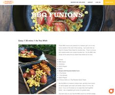 Avanti Cafe Musings: BBQ Funions :: Chef Mark Cleveland @ Hungry Harves...