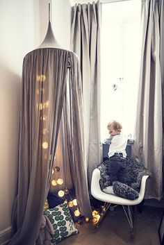 small-talk-med-filippa-linden/ Small One, Kidsroom, Sweet Home, Curtains, Interior, Inspiration, Rooms, Home Decor, Play