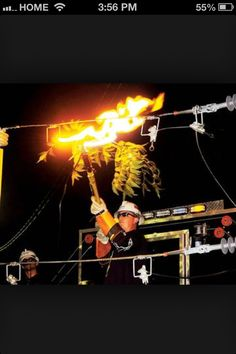 Who needs fireworks? Journeyman Lineman, Lineman Wife, High Voltage, Fireworks, Dads, Lights, Cool Stuff, Board, Life