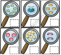 Preschool Printables: Let's Count Bugs Printable