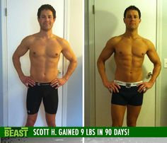 Scott H. gained 9 lb