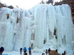 Cascate ghiacciate di Taoyuan