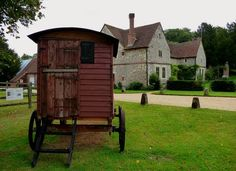 Old Shepherd's Hut  at Chawton House(Jane Austen's brother's place in Hampshire). Restored by Plankbridge Ltd in Dorset.