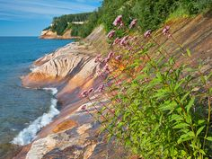 There are a lot of great Michigan photos on this page - I want to tag them all! Picture Rocks National Lakeshore by ER Post, via Flickr