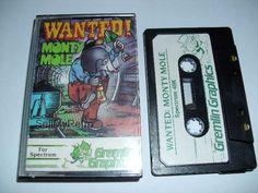 Sinclair ZX Spectrum Game: Wanted! Monty Mole