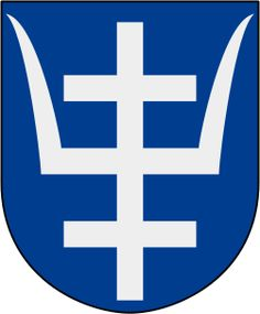 Coat of arms of Järbo landskommun, now part of Sandviken Municipality, Sweden