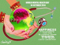 """WORLD MENTAL HEALTH DAY ON 10 OCT, 2014"" #Creative #Art in #digital-art @Touchtalent"