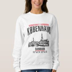 Copenhagen Sweatshirt - vintage gifts retro ideas cyo