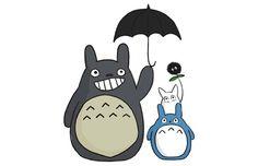 Totoro Family T-Shirt Get yours here: http://tshirtonomy.com/go/totoro-family