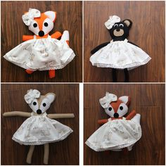 Baby Woodland Friends Choose Animal: Bear, Fox, Deer, Wolf by uniqueextras on Etsy https://www.etsy.com/listing/256336670/baby-woodland-friends-choose-animal-bear