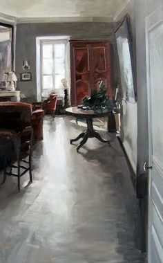 Christoff Debusschere (French painter, born 1962), oil on canvas.
