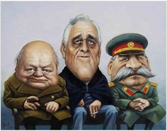 The Yalta Conference--Winston Churchill+Franklin Roosevelt+Stalin. Genghis Khan, Liberia, Haiti, Commonwealth, Franklin Roosevelt, Victory In Europe Day, Bomba Nuclear, Holland, The Originals