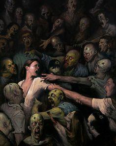 Dead Reign art by E.M. Gist