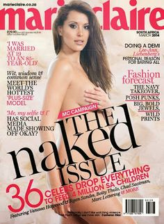 Marie Claire South Africa Naked Issue March 2014 pdf