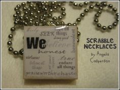 scabble necklace