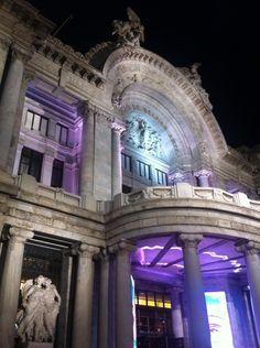 Palacio de las Bellas Artes, Mexico City.