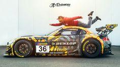 BMW Z4 GT3 #DTM #Dunlop #Walkenhorst #JPPerformance