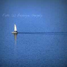 #balaton #hungary #blue #water #earth #earthday #tihany #sailboat #wind #air #besenyeiphoto by besenyeiphoto