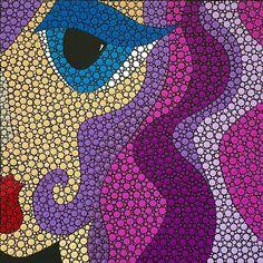 Ivette Bassan Artista. Rosa.