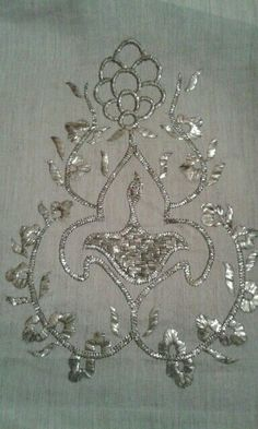 Couture Embroidery, Indian Embroidery, Gold Embroidery, Embroidery Needles, Embroidery Designs, Tambour Beading, Cutwork, All That Glitters, Tatting