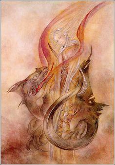 Dragon magic from Sulamith Wulfing