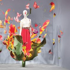 "NORDISKA KOMPANIET, Stockholm, Sweden, ""Love is the flower you've got to let grow"", creative by JoAnn Tan Studio, pinned by Ton van der Veer"