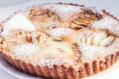 Apple almond tarte