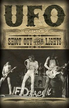 UFO Michael Schenker, Phil Mogg and Pete Way.