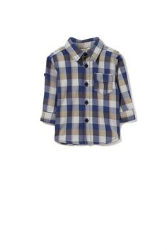 Purchase this before it goes  Cotton On Kids - zac ls shirt - Blue/grey check http://www.wasandnow.com/shop/fashion-2/cotton-on-kids-zac-ls-shirt-bluegrey-check/ #FashionCottonOnKidsCottonOnCottonOnKidsZacLsShirtBluegreyCheck This Zac long sleeve shirt is a cute little dressy piece that a bubby can wear with any simple pair of jeans or chino pants. The shirt features buttons right down the centre front, a collar, patch pocket, and a back yolk. Too cute to resist!