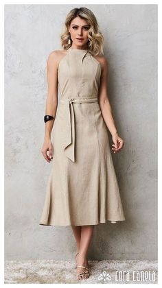 This attire gives perfect attraction Classy Dress, Classy Outfits, Chic Outfits, Dress Outfits, Fashion Dresses, Dress Up, Shirt Dress, Stylish Dresses, Simple Dresses