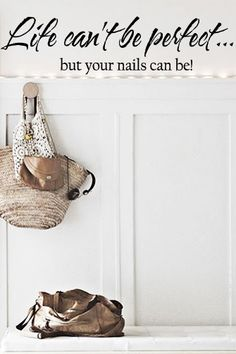 Life Can't Be Perfect Wall Decal