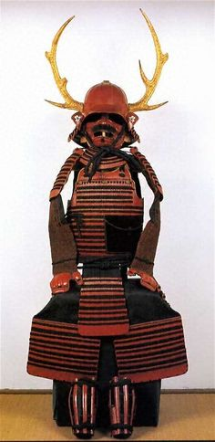 朱塗黒糸威二枚胴具足 兜、小具足付 一具 文化遺産オンライン