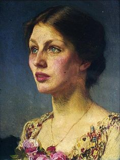 George Clausen - Lady Beatrice, 1908. Leeds Museums and Galleries / Supplied by The Public Catalogue Foundation