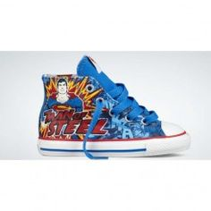 Converse shoes Chuck Taylor All Star DC Comics- Superman Sneakers Blue/Red hi Cheap Converse Shoes, Converse All Star, Taylors Gang, Chuck Taylors, Discount Shoes, High Top Sneakers, Dc Comics, Superman, Men Fashion