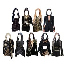 Korean Fashion Kpop Inspired Outfits, Korean Girl Fashion, Blackpink Fashion, Kpop Fashion Outfits, Stage Outfits, Hollywood Fashion, Casual Summer Outfits, Aesthetic Clothes, Ideias Fashion