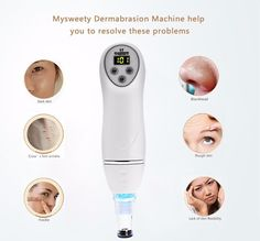59.98$  Watch here - http://alijew.worldwells.pw/go.php?t=32785481243 - New Face beauty Tools Multifunction 6 Tips Dermabrasion Peeling Machine Facial Skin Care Remove Scars Massager Device 110-240V