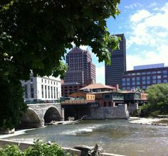 Downtown riverside | Credit: City of Rochester