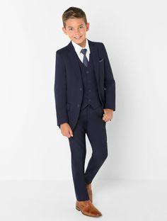 Kids Blazer élégant Formel Tweed Enfants Garçons Smoking Doublé Âge 1-15