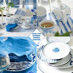 simple tableware  Bright.Bazaar: Designers Guild Jinshi Tabletop Collection