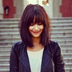 Cool Bob Hairstyles With Straight Bangs Collection - Bob Haircut Bob hairstyles With Straight bangs, A Bob haircut is a fairly decent and relatively low-maintenance ...