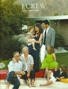 Love this photo arrangement for a generation family photo!!