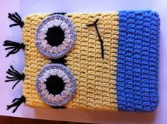 Handmade any size Minion mobile cell phone kindle by CraftySue77, $24.99