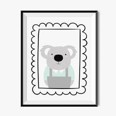Plakat dla dzieci - Koala