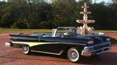 1958 Ford Fairlaine Convertible