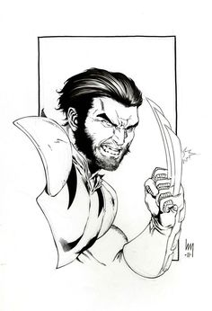 Wolverine by Heubert Khan Michael